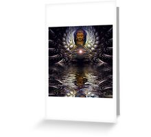 spiritiual relections Greeting Card