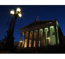 Vienna by night Photographic Print
