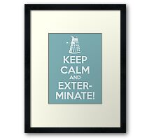 KEEP CALM 2 Framed Print