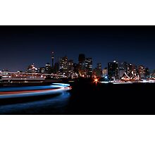 Earth Hour Photographic Print