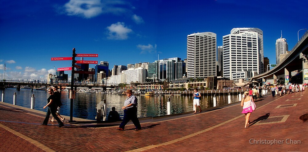 Darling Harbour by Christopher Chan
