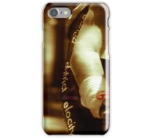 A Woman at Arm's Length  iPhone Case/Skin