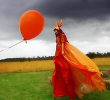 Festival Stilt Walker by Naomi Mawson