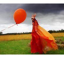 Festival Stilt Walker Photographic Print