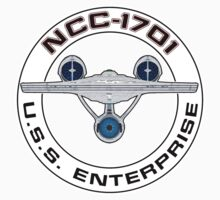 USS Enterprise Logo - Star Trek - NCC-1701 (Alternate Universe) by createdezign