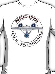 USS Enterprise Logo - Star Trek - NCC-1701 (Alternate Universe) T-Shirt