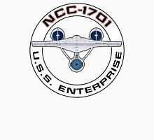 USS Enterprise Logo - Star Trek - NCC-1701 (Alternate Universe) Unisex T-Shirt