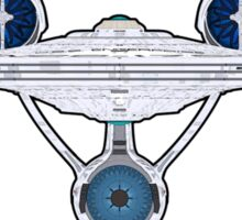 USS Enterprise Logo - Star Trek - NCC-1701 (Alternate Universe) Sticker