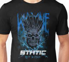 Static Skull Unisex T-Shirt