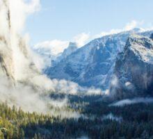Yosemite in Shadow & Light Sticker
