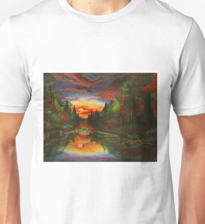 """""""The Gardens"""" from the In The Forests Series Unisex T-Shirt"""