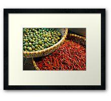 Gastronomic harmony  Framed Print