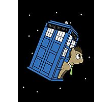 The Doctor and his TARDIS Photographic Print