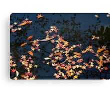 Kyoto reflection Canvas Print