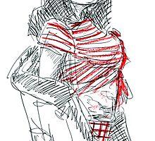 Stripes & Sunnies by michelle giacobello