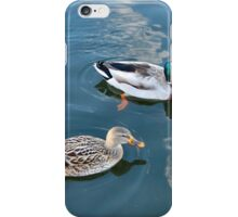 MR & MRS MALLARD. iPhone Case/Skin