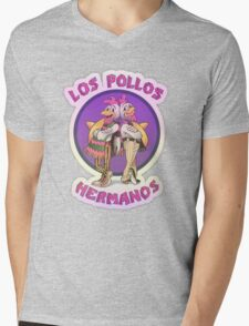 Los Pollos Hermanos Mens V-Neck T-Shirt