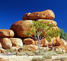 The Devil's Marbles. by Stephen Kilburn