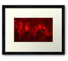 Donuts Abstract 19 Framed Print