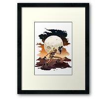 Barbarella Framed Print