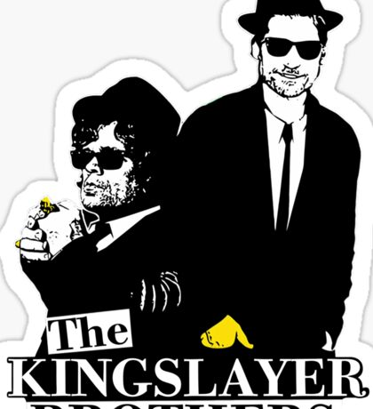 'The Kingslayer Brothers' Sticker