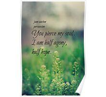 Austen Agony Hope Poster