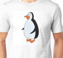 Cute smiling cartoon penguin standing Unisex T-Shirt