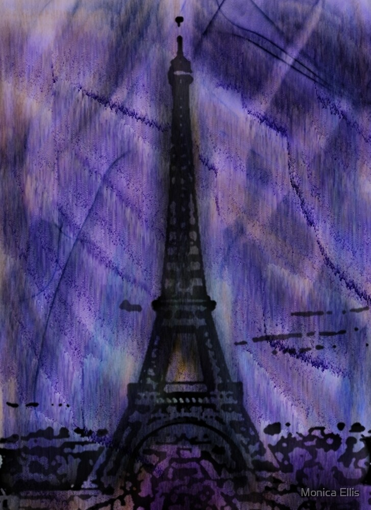 A Paris Winter by Monica Ellis