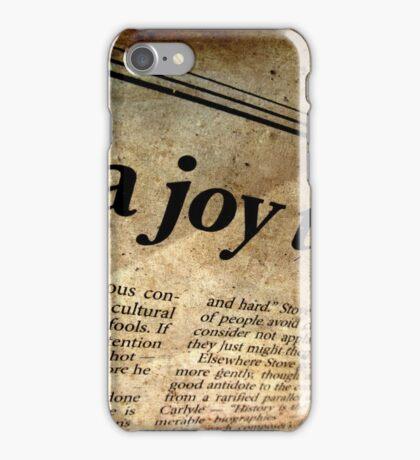 Abandoned News iPhone Case/Skin