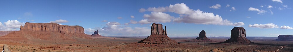 Monument Valley 2004 by Jason Kerr