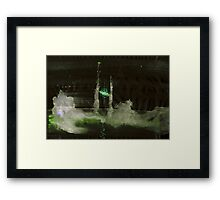 WDV - 410 - Sea Under Skin Framed Print