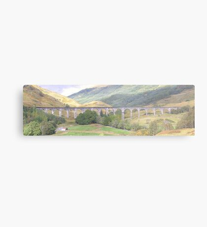 Harry Potter Rail Bridge Metal Print