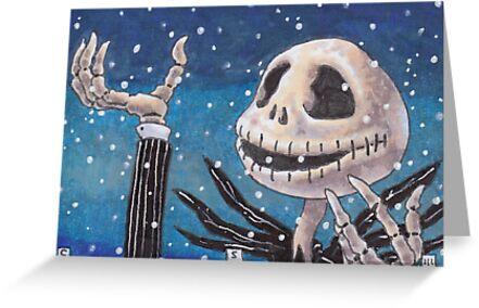 Nightmare Before Christmas - Jack by cs3ink