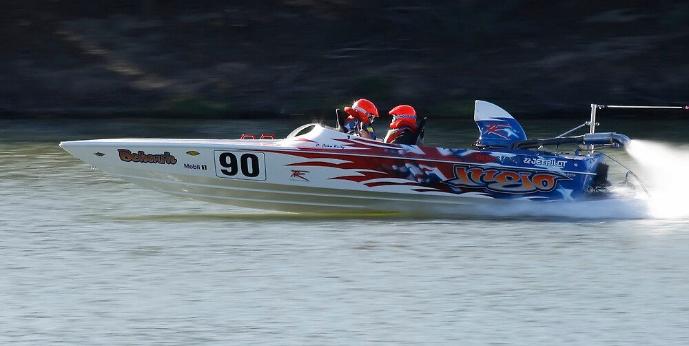 Mojo Ski Racing Team by Tim  Mitchell