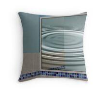 Corner Reflector Throw Pillow