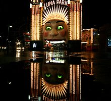 Luna Park Reflection 2 by Mark Snelson