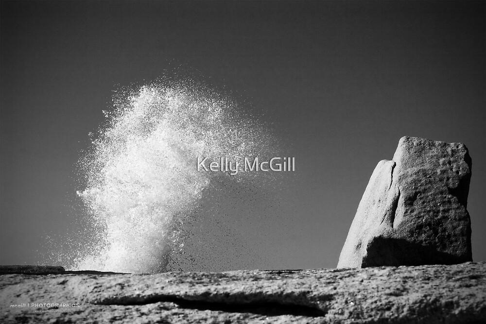 Bicheno Blowhole  by Kelly McGill