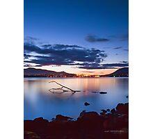 Derwent River Sunset Photographic Print