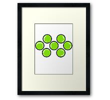 The all seeing Yi. Framed Print