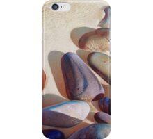 """Pallette of stones - Hallett Cove beach SA"" - detail 2 iPhone Case/Skin"