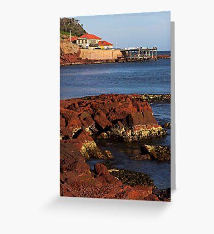 Merimbula Wharf Greeting Card