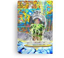 The New World- creating a hologram of life Canvas Print