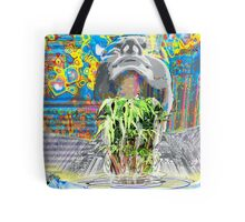 The New World- creating a hologram of life Tote Bag