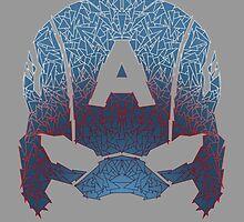 Captain America helmet by Angrahius