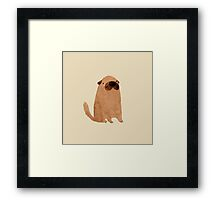 Brown Doggy Framed Print
