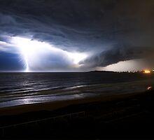 Narrabeen Lightning by Geoffrey Chang