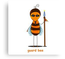 bee guard  Canvas Print