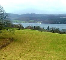 Windermere from Blackwell House, Lake District, UK by GeorgeOne