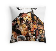 Pickled Heads Throw Pillow