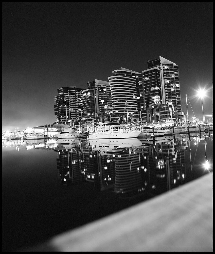 Dockland in Monochrome by Sidqie Djunaedi